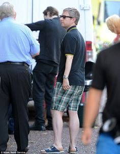 Martin Freeman AssAssin ugly ass shorts